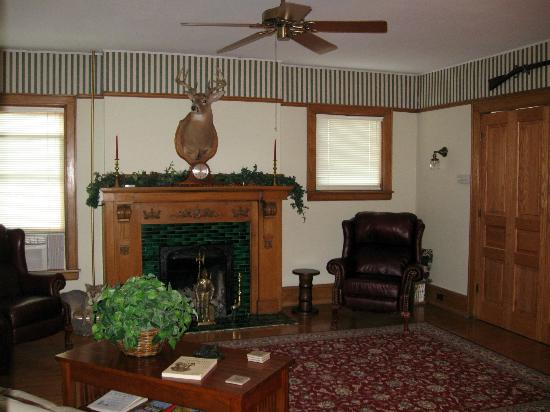 Deer Head Inn: Common area for guests