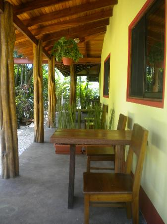 Indra Inn: Terrace