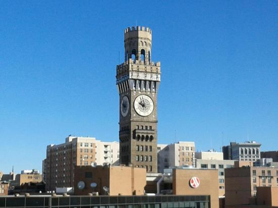 Hilton Baltimore: BromoSheltzer Tower Baltimore Md (across from Hilton)