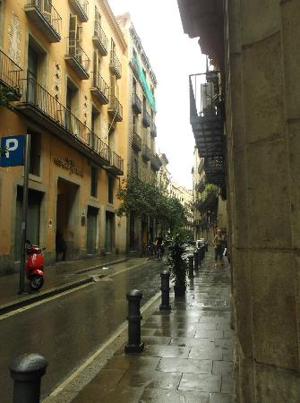 Gabriel la Rambla : uscita esterna su strada
