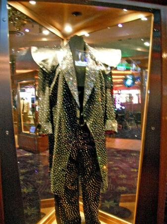 Casino at the Hard Rock Hotel: Part of the Rock Memorabilia Collection at the Hard Rock Hotel