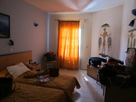 Aegean Plaza Hotel: nuestra habitación