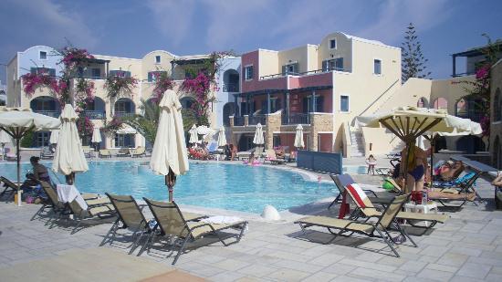 Aegean Plaza Hotel: vista desde la habitación