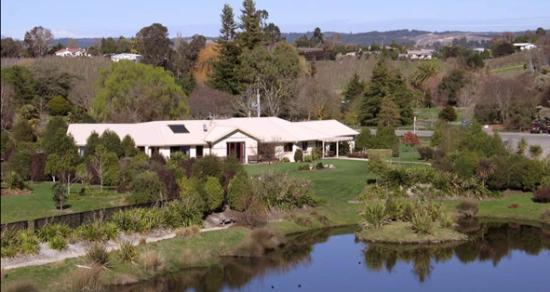 Accent House Boutique Bed & Breakfast: Aerial View