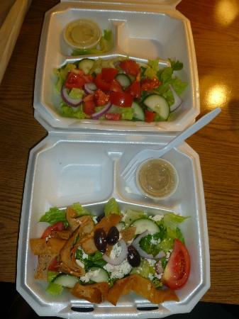 D's Mediterranean Grill : Salads