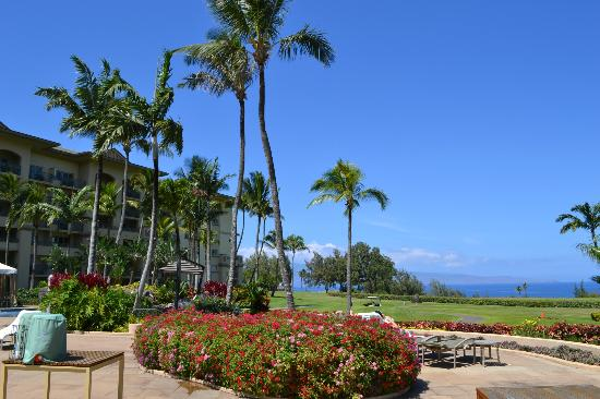The Ritz-Carlton, Kapalua: Property view from pool area