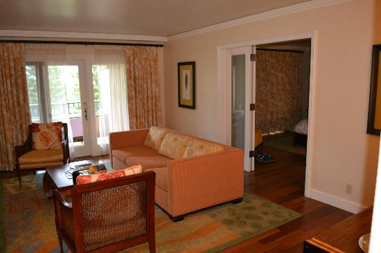 The Ritz-Carlton, Kapalua: Front room of the suite