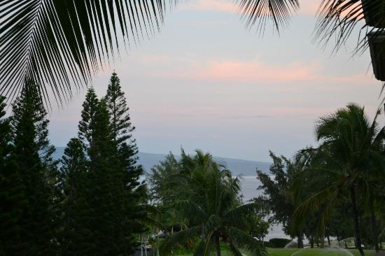 The Ritz-Carlton, Kapalua: View from the lanai
