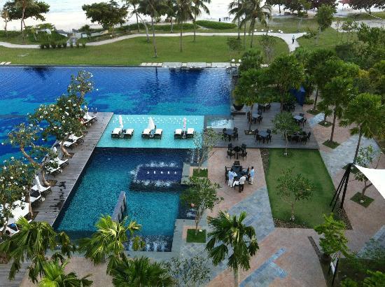 The Danna Langkawi, Malaysia: バルコニーからの眺め