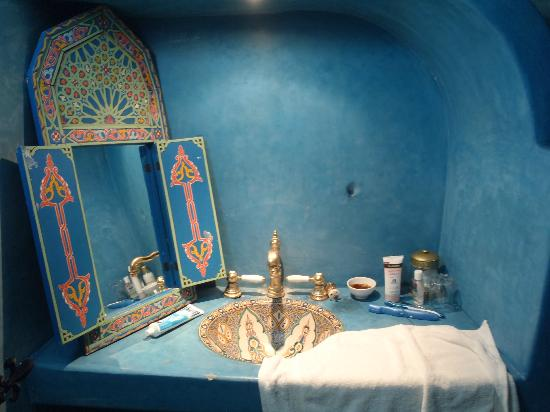The Repose: Chefchaouen Suite bathroom