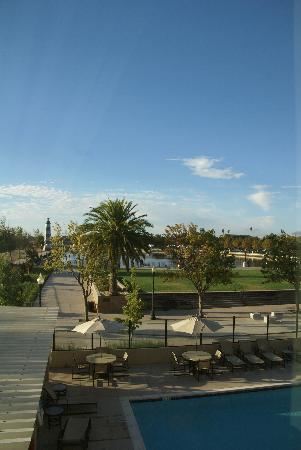 Hampton Inn and Suites Suisun City Waterfront: View from room