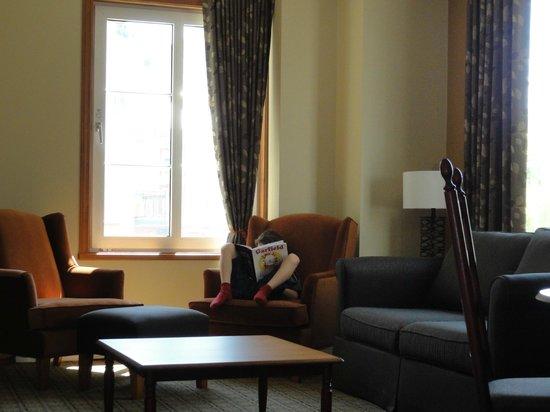 La Place St-Bernard - Les Suites Tremblant : Salon