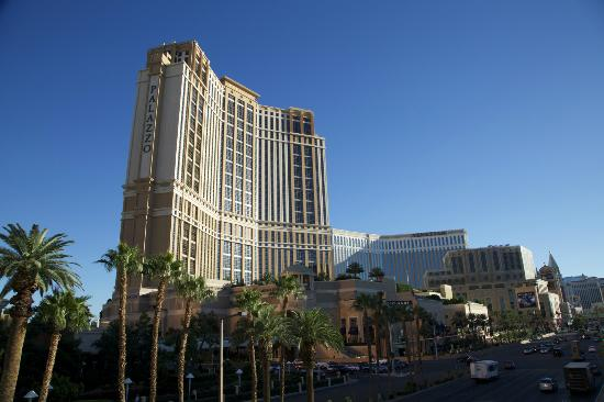 The Palazzo Resort Hotel Casino: As seen from the Fashion Mall