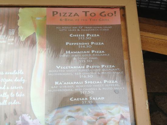 Kaanapali Beach Hotel: Tiki Grill