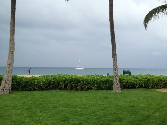 Kaanapali Beach Hotel: view