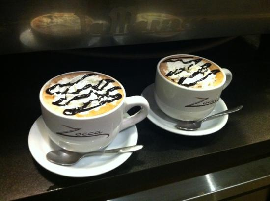 Zocca Coffee : yummy hot chocolate