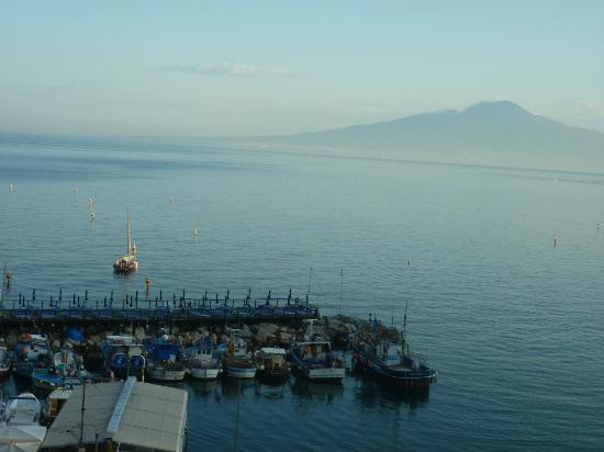 Hotel del Mare : Vista desde la ventana de mi habitación. Maravillosa