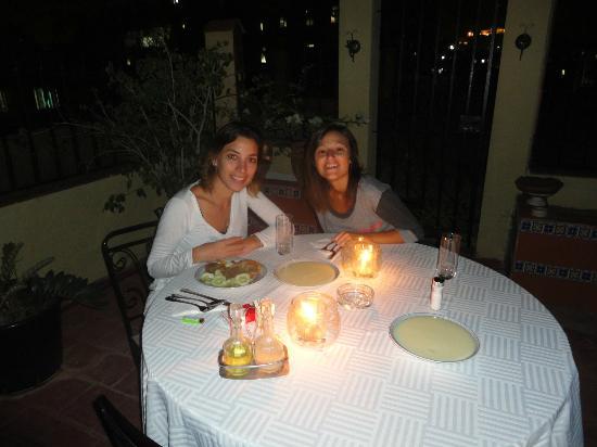 Casa Emilio: cena romantica jaja