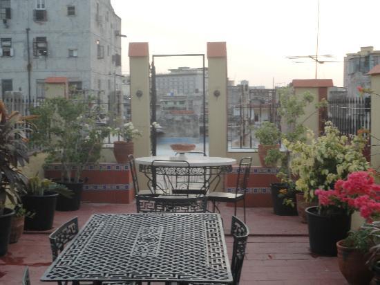 Casa Emilio: terraza