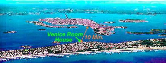 Bed & Breakfast Venice Rooms House: Were we are