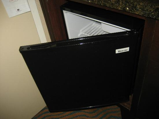 DoubleTree by Hilton Hotel Burlington: half refrigerator