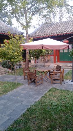 Beijing Sihe Courtyard Hotel: the biggest yard