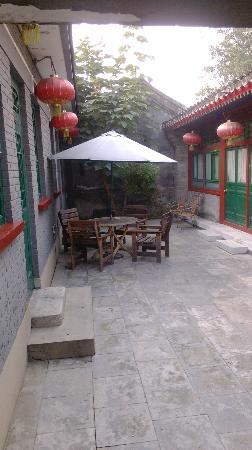 Beijing Sihe Courtyard Hotel: backyard