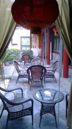 Beijing Sihe Courtyard Hotel: rest area