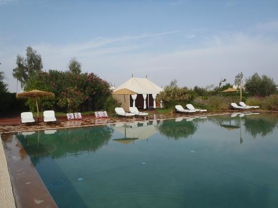 Les Jardins d'Issil: pool area
