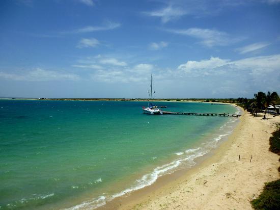 Isla Cubagua: Desde lo alto hacia la playa