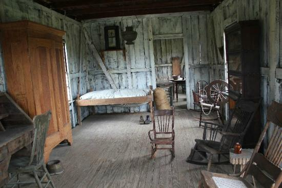 Inside A Pioneers Cabin Picture Of Lsu Rural Life