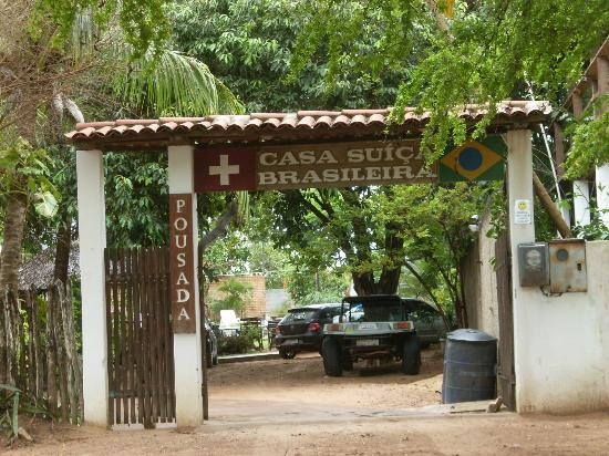 Casa Suica Brasileira: Entrada da Casa Suiça Brasileira