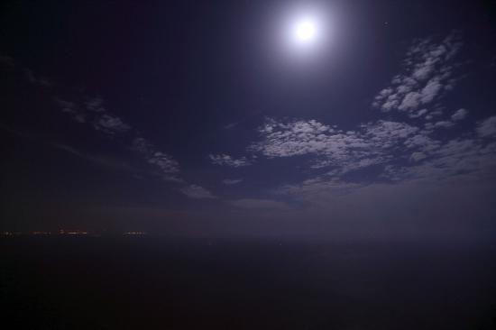 MiraMare Bed&Breakfast: Moonlight View at Roof 