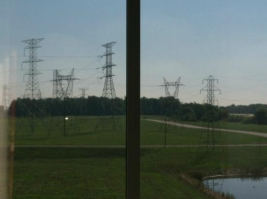 Hilton Garden Inn Indianapolis Airport: Ugly view from room