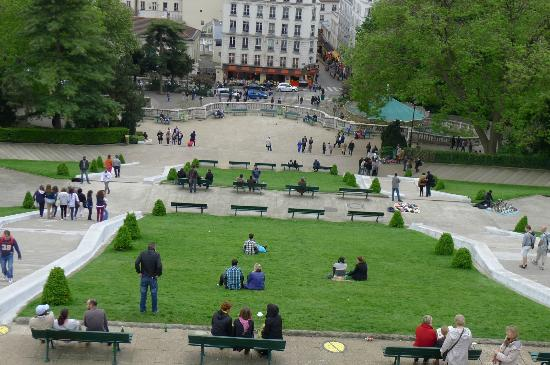 Timhotel Montmartre: Beautiful View from Montmatre Hill 2