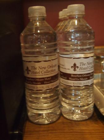 Audubon Cottages: Key on my list of Must Have's in a Room--a Water Bottle