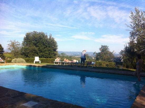 Fattoria San Donato: poolside