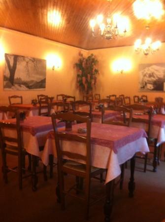 Hotel St-Georges : salle du petit déjeuner