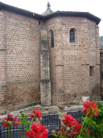 Palacio Azcarate: Vista desde mi habitción