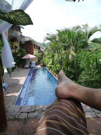 La Quinta Troppo: cabana above pool