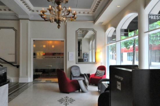 Moda Hotel: hall de hotel