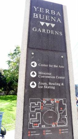 Yerba Buena Gardens - directions