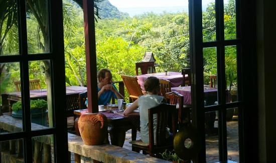 Koh Mak Island: Cappuccino with island-seaview for couples...