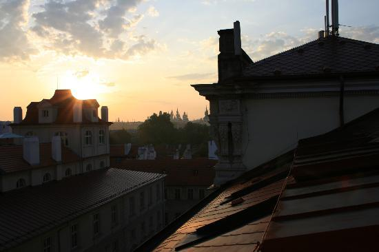 Hotel William: i tetti di Praga