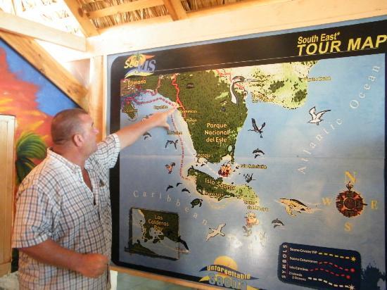 SeavisTours: Uitleg route! 