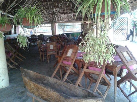 Makuti Villas Resort: restaurant