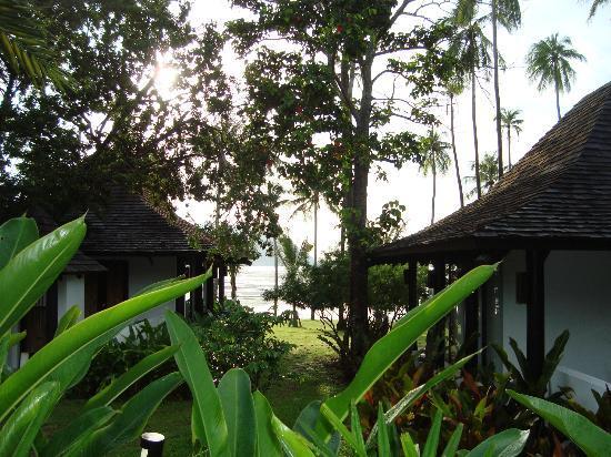 The Vijitt Resort Phuket : vue de la terrasse de la chambre