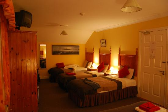 Augusta Lodge: The large ensuite (for 5 people)