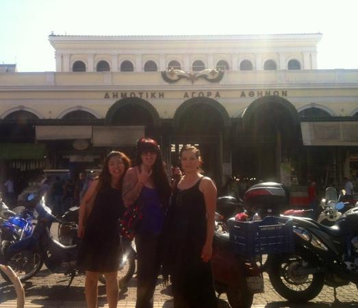 Athens Walks Tour Company : @Central Market