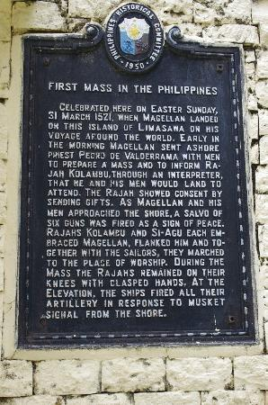 Southern Leyte Province, Φιλιππίνες: Limasawa Island - First Mass site